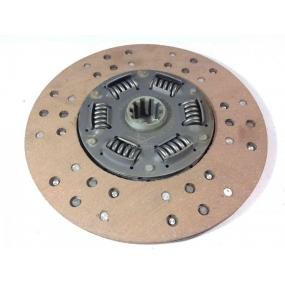 Диск сцепления ведомый и нажимной (Триал) -  (КОМПЛЕКТ) - (нажимной диск лепестковый - крепится на отверстия для рычажной корзины)