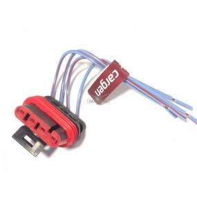 Разъём 4-ёх контактный с проводами - электробензонасоса (АХ-508)