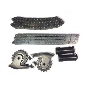 Рычаги натяжного устройства с цепями и гидронатяжителями (комплект) (цепи на 92 и 72 звена двухрядные, втулки Ф 5,05 мм) ЗМЗ 405. 406, 409, 514