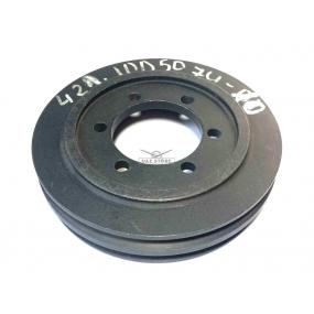 Шкив привода вентилятора УМЗ-4215 двойной (внутренний Ф 101)