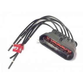 Разъём 6-ти контактный с проводами (АХ-322-2)