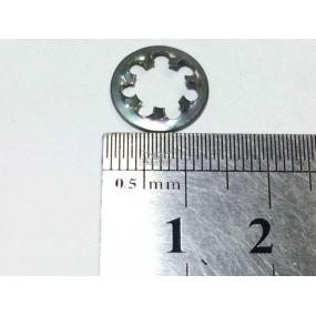 Шайба пружинная Ф6 зубчатая (хомута катушки зажигания, клапана карбюратора, коммутатора, вибратора, кронштейна бачка омывателя, облицовки радиатора 452)