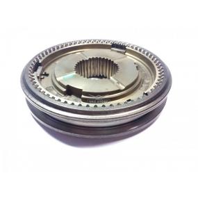 Ступица и муфта синхронизатора в сборе 5-ти ступенчатой КПП DYMOS (43360T02620) - третьей и четвертой передачи