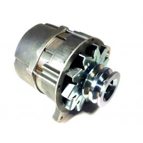Генератор ПРАМО  65 А, 14 В для двигателя ЗМЗ-402.10 (под два ремня, с регулятором напряжения)  УАЗ 2206, 3151, 3303, 3741, 3962