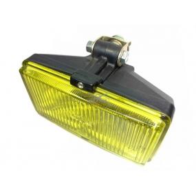 Фара противотуманная передняя (1 шт.) желтый рассеиватель, без ободка, с лампой H3 55, штекер внутри фары