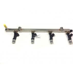 Топливопровод распределительный с форсунками ЗМЗ-40904.10, 40904.10-10 Bosch 0280151244