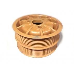 Шкив водяного насоса ЗМЗ-40904.10-10 с кондиционером, ЗМЗ-514 текстолитовый (под 2 ремня)