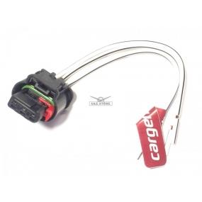 Разъём 3-ёх контактный с проводами - катушки зажигания BOSCH 0221504027 (АХ-501)