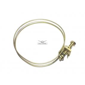 Хомут воздушного фильтра (стяжной - муфты карбюратора нового образца - для воздушных фильтров с сменным элементом мешкообразного типа)