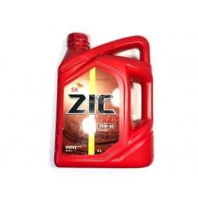 Масло трансмиссионное полусинтетическое  ZIC G-FF - (4 литра)