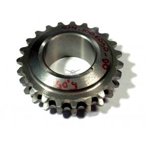 Зведочка распределительного вала (цепь двухрядная, втулки Ф 5,05 мм) ЗМЗ-514