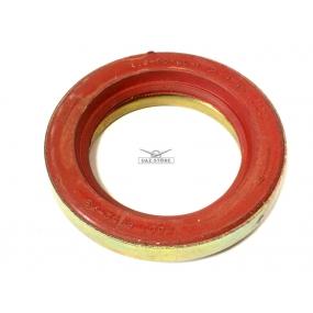 Сальник коленчатого вала передний в обойме красный 55х80