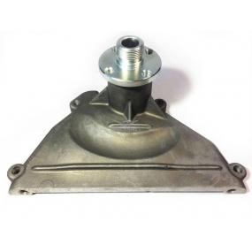 Крышка передняя головки блока цилиндров с опорой вентилятора (два отверстия М8 с торца) ЗМЗ-409