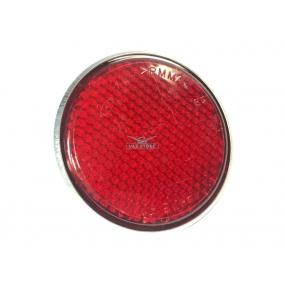 Световозвращатель круглый (с 1 болтом) Красный