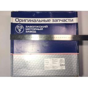 Крышка цепи с сальником Patriot ЕВРО-3 ЗМЗ-40904 с кондиционером, Hunter ЗМЗ-40904 ЕВРО-3 с механиическим натяжителем ремня и их модификации