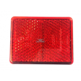 Световозвращатель прямоугольный Hunter, Pickup (с 1 болтом) красный