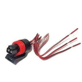 Разъём 3-ех контактный с проводами - датчика дроссельной заслонки (АХ-315)