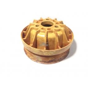 Шкив водяного насоса ЗМЗ-406 текстолитовый (под 1 ремень)
