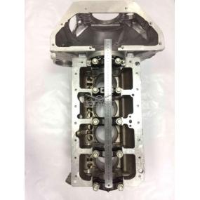 Блок цилиндров с крышками и картером сцепления в сборе 4213