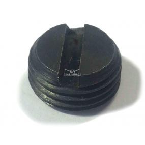 Заглушка (с прорезью, и резьбой М16х1,5) фиксатора механизма переключения передач 5-ти ступенчатой КПП Автодетальсервис н.о.