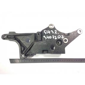 Кронштейн крепления насоса ГУРа и компрессора кондиционера ЗМЗ-51432 (Евро-4)