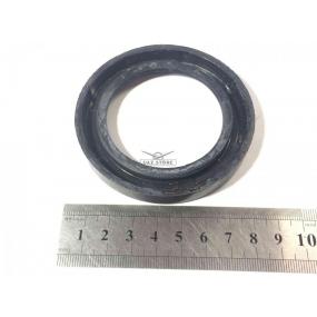 Сальник передний коленчатого вала без обоймы черный (55х80х10)