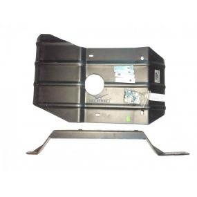 Защита коробки передач и раздаточной коробки - для автомобилей Patriot, Pickup с дизельным двигателем и механической РК - штампованый лист