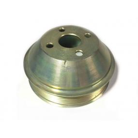 Шкив вентилятора (металлический под поликлиновый ремень) для двигателя ЗМЗ-409
