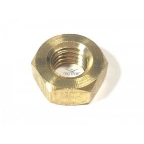 Гайка М10х1,5 приемной трубы (латунь)