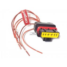 Разъём 6-ти контактный с проводами - датчика массового расхода воздуха 20.3855-10 (АХ-506)