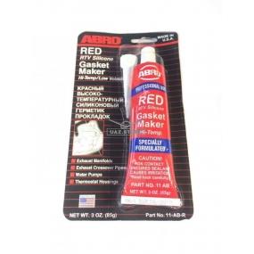 Герметик-прокладка красный высоко-температурный (ABRO) - (0.085 кг)