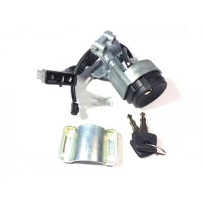 """Выключатель зажигания Евро 3 (однорядный разъём) без выключателей замка передней двери (""""личинок""""), установка транспондеров иммобилайзера (""""чипов"""") - невозможна Автокон"""