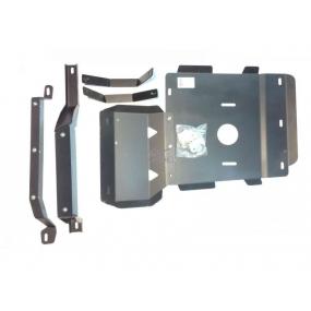 Защита коробки передач и раздаточной коробки - Patriot c электронной РК DYMOS - штампованый лист