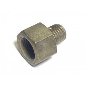 Штуцер цилиндра колесного заднего (наружная резьба в цилиндр М10х1,25 внутренняя резьба под трубку М12х1)