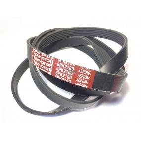 Ремень 6РК 2100 - Patriot ЗМЗ-409 c кондиционером с 2008 года выпуска - привода вентилятора, генератора, насоса ГУР, водяного насоса, компрессора кондиционера)