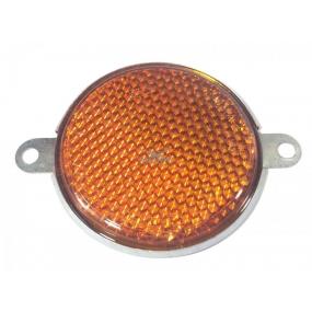 Световозвращатель круглый (с ушами) оранжевый