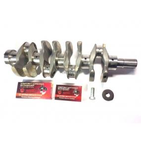 Вал коленчатый ЗМЗ-409 со вкладышами, шайбой и стяжным болтом
