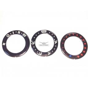 Наклейка (Лимб) на облицовку пульта управления отопителем Patriot до 2012 г (3 шт.) - левый, центральный, правый