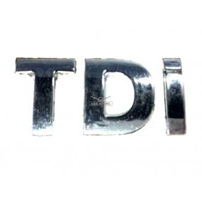 """Наклейка """"TDI"""" раздельная"""