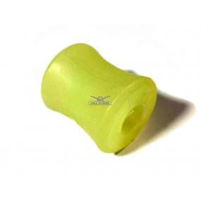 Втулка шарнира амортизатора пружинной подвески наружная (полиуретановая) - (под металлическую втулку)