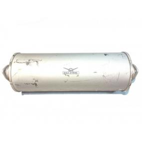 Глушитель 3160 - (1-й фланец с 3-мя отверстиями на прямой трубе 5 см, 2-й фланец с 3-мя отверстиями на прямой трубе 5 см)