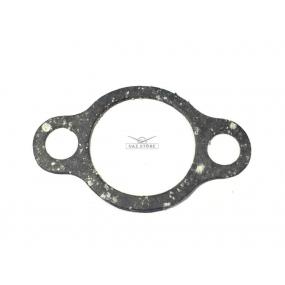 Прокладка крышки гидронатяжителя ЗМЗ-405, 406, 409, 515 (серая) 2 отверстия, длина 6 см