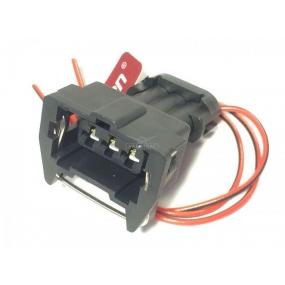 Разъём 3-ёх контактный с проводами - датчика фазы (распределительного вала) Евро-2, датчика дроссельной заслонки, регулятора холостого хода (АХ-510)