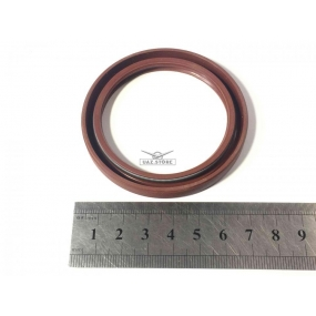 Сальник ЗМЗ-406 коленчатого вала передний красный (55х70х8)