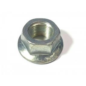 Гайка М16х1,5 с фланцем (шкворня поворотного кулака нового образца - под вкладыш)