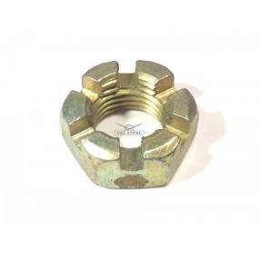Гайка М14х1,5 коронная наконечника рулевых тяг