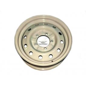 Диск колеса штампованый (г. Кременчуг) белый 5х139,7 6х16 ET22 D108