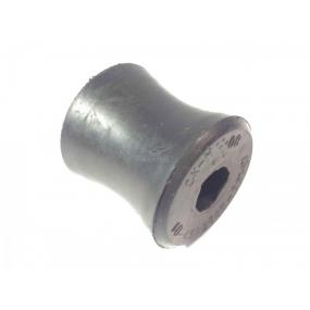 Втулка шарнира амортизатора пружинной подвески наружная (резиновая) - (под металлическую втулку)