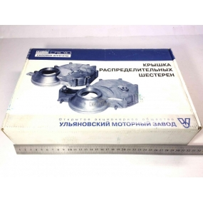 Крышка распределительных шестерен УМЗ 4213 без сальника (УАЗ - инжекторный двигатель)