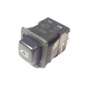 Выключатель 3832.3710-02.05 кнопка фиксирующаяся - фары поворотной (фары-искателя)